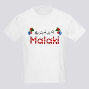 Malaki, Christmas Kids Light T-Shirt