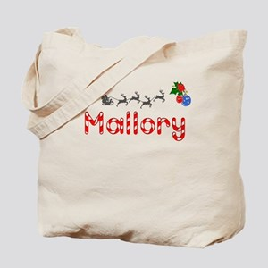 Mallory, Christmas Tote Bag