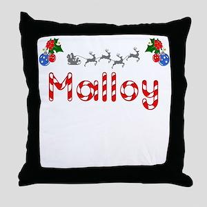 Malloy, Christmas Throw Pillow
