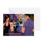 Smile and Nod Greeting Card