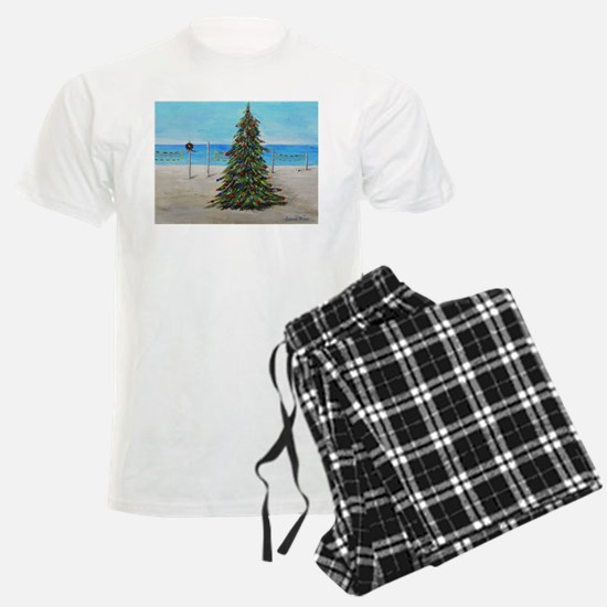 Christmas Tree at the Beach pajamas