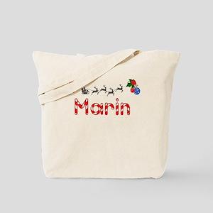 Marin, Christmas Tote Bag