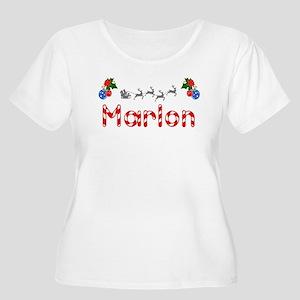 Marlon, Christmas Women's Plus Size Scoop Neck T-S