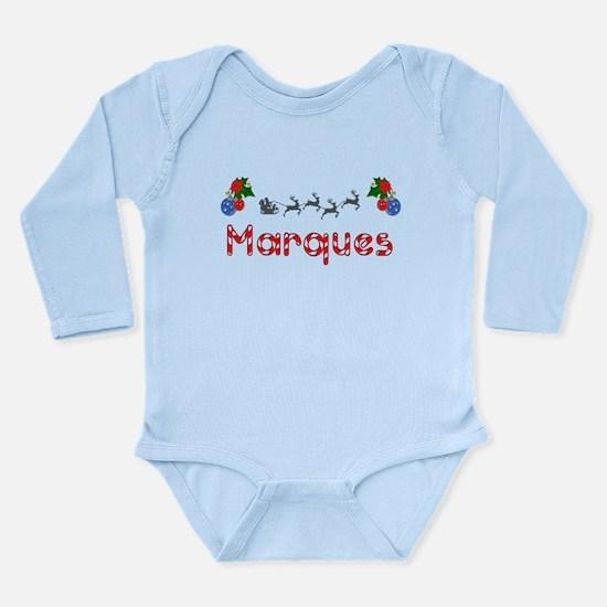 Marques, Christmas Long Sleeve Infant Bodysuit