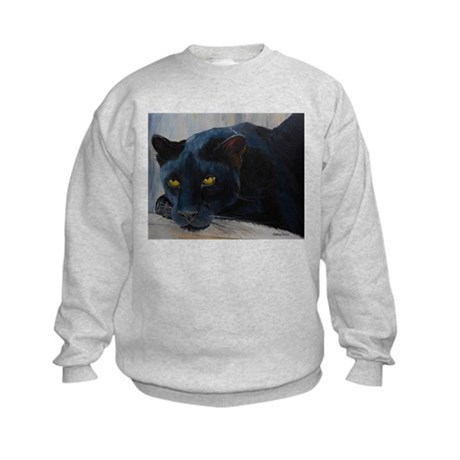 Black Cat Kids Sweatshirt