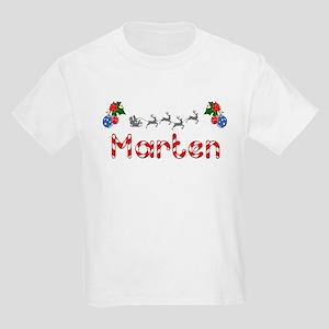 Marten, Christmas Kids Light T-Shirt