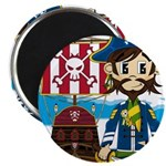 Pirate Captain and Ship Magnet