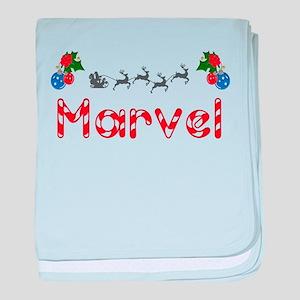 Marvel, Christmas baby blanket