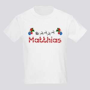 Matthias, Christmas Kids Light T-Shirt