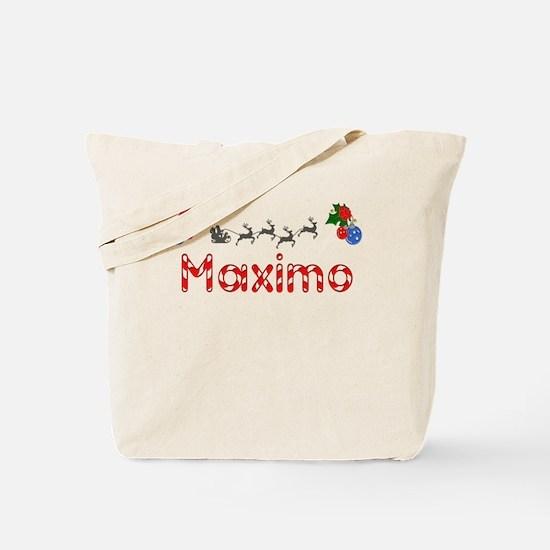 Maximo, Christmas Tote Bag