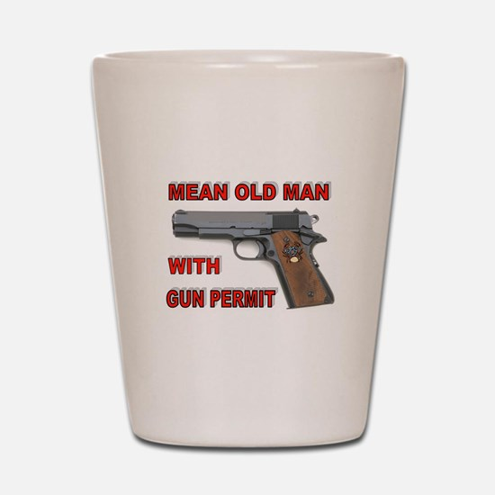 GUN PERMIT Shot Glass
