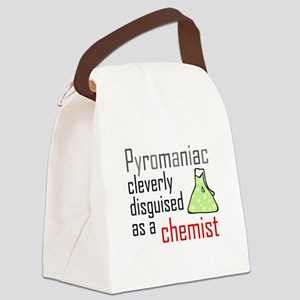'Pyromaniac' Canvas Lunch Bag