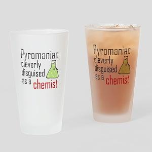 'Pyromaniac' Drinking Glass