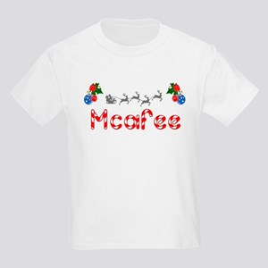 Mcafee, Christmas Kids Light T-Shirt