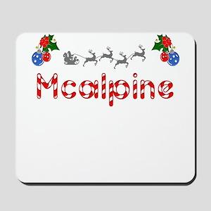 Mcalpine, Christmas Mousepad