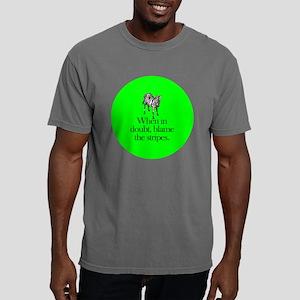 zebra_roundorn Mens Comfort Colors Shirt