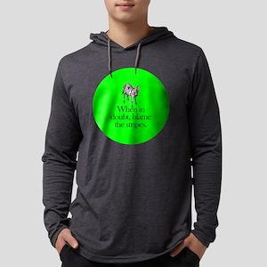 zebra_roundorn Mens Hooded Shirt