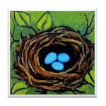 Bird's NEST With EGGS ART Tile