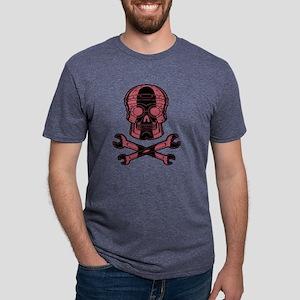 iron-pirate1b-bkT Mens Tri-blend T-Shirt