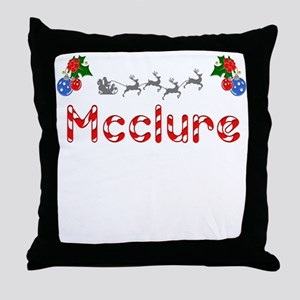 Mcclure, Christmas Throw Pillow