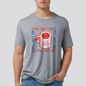 coffeeparty2 Mens Tri-blend T-Shirt