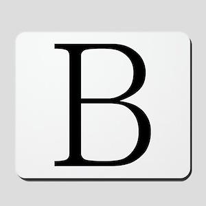 Greek Letter Beta Mousepad