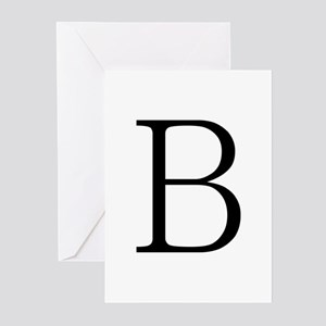 Greek Letter Beta Greeting Cards (Pk of 10)