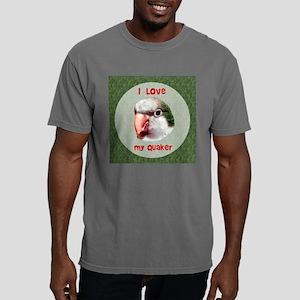 I love my quaker circle. Mens Comfort Colors Shirt