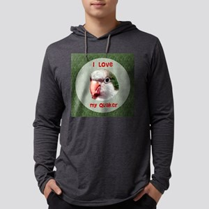 I love my quaker circle Mens Hooded Shirt