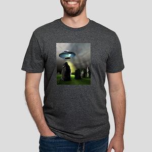 ANCIENT MYSTRIES Mens Tri-blend T-Shirt