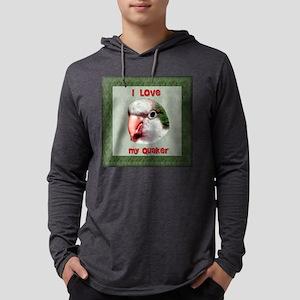 I love my quaker TILE Mens Hooded Shirt