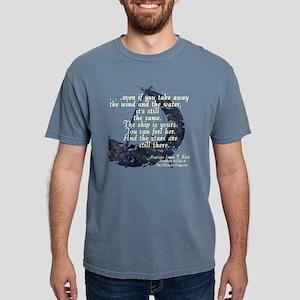 KirkSailingShipdk Mens Comfort Colors Shirt