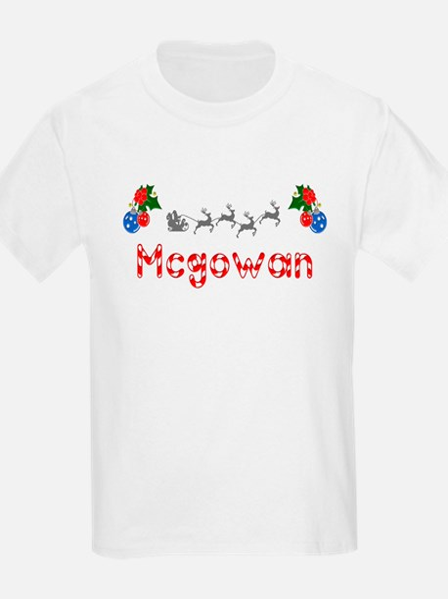 Mcgowan, Christmas T-Shirt