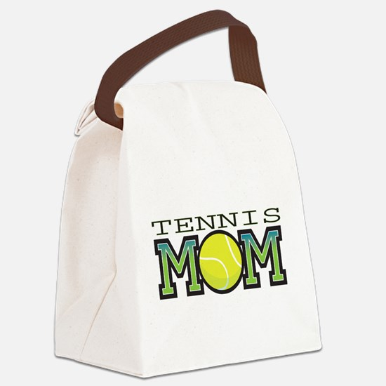 tennis_mom.png Canvas Lunch Bag