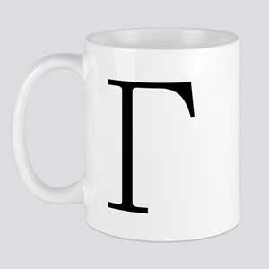 Greek Letter Gamma Mug