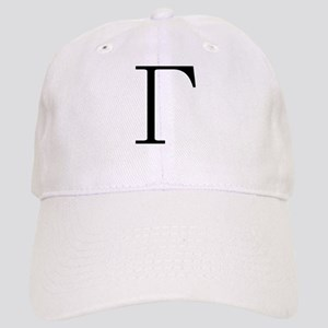Greek Letter Gamma Cap