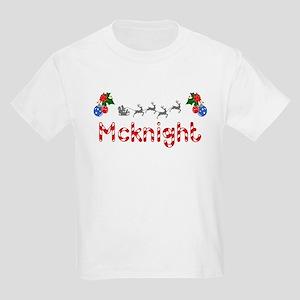 Mcknight, Christmas Kids Light T-Shirt