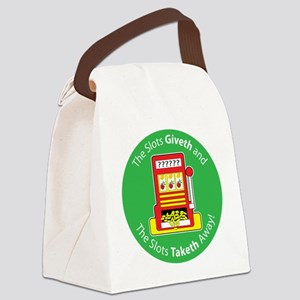 slot_give take Canvas Lunch Bag