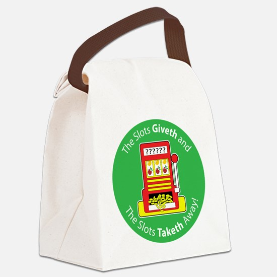 slot_give take.png Canvas Lunch Bag