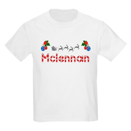 Mclennan, Christmas Kids Light T-Shirt