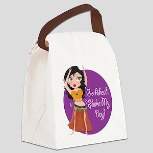 shake my day bellydancer Canvas Lunch Bag