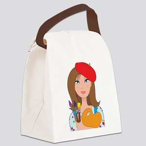 artist new Canvas Lunch Bag