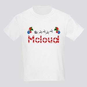 Mcloud, Christmas Kids Light T-Shirt