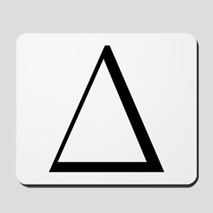 Greek Letter Delta Mousepad