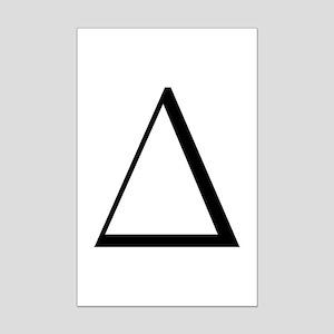 Greek Letter Delta Mini Poster Print