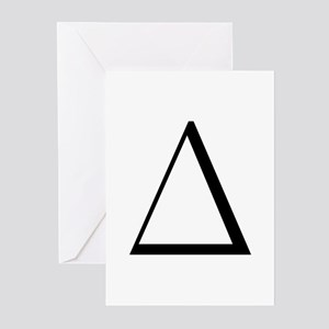 Greek Letter Delta Greeting Cards (Pk of 10)