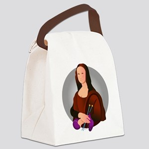 mona_knits Canvas Lunch Bag