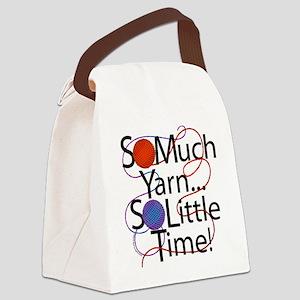 So Much yarn Canvas Lunch Bag