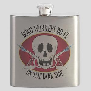 boro workers dark side Flask