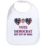 Get Out Of Iraq Bib